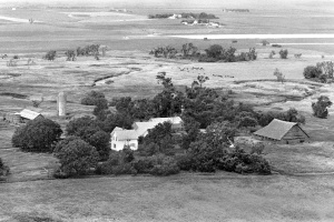 1978 view to the west.